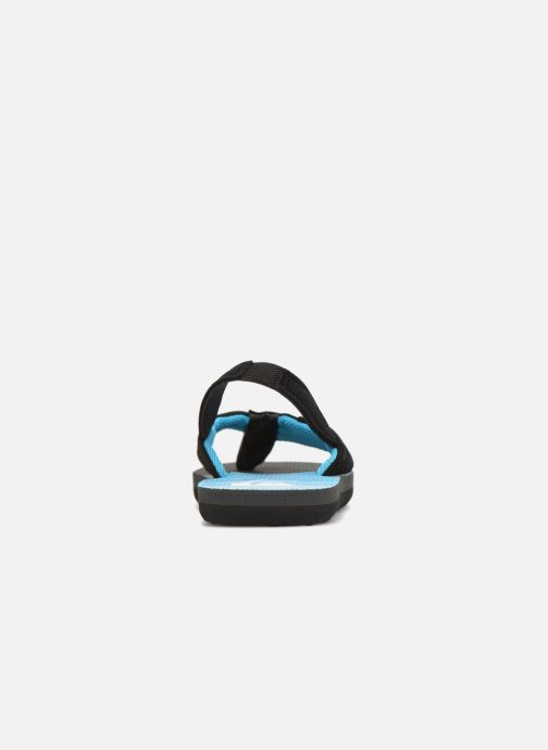 Flip flops Quiksilver Molokai T Black view from the right