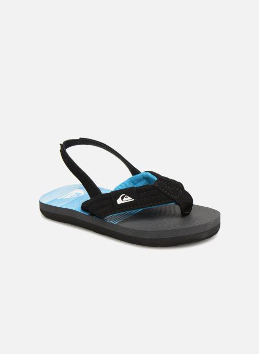 Flip flops Quiksilver Molokai T Black detailed view/ Pair view