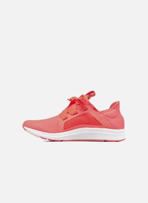 Chaussures de sport adidas performance edge lux w Orange vue face