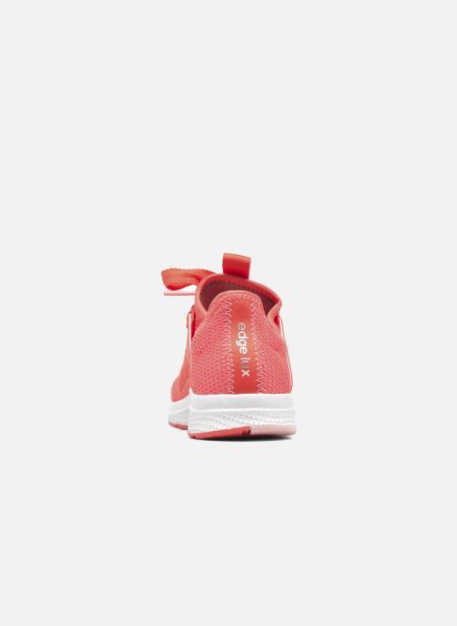 Chaussures de sport adidas performance edge lux w Orange vue droite