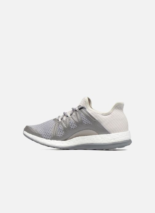 Chaussures de sport adidas performance PureBOOST Xpose Gris vue face
