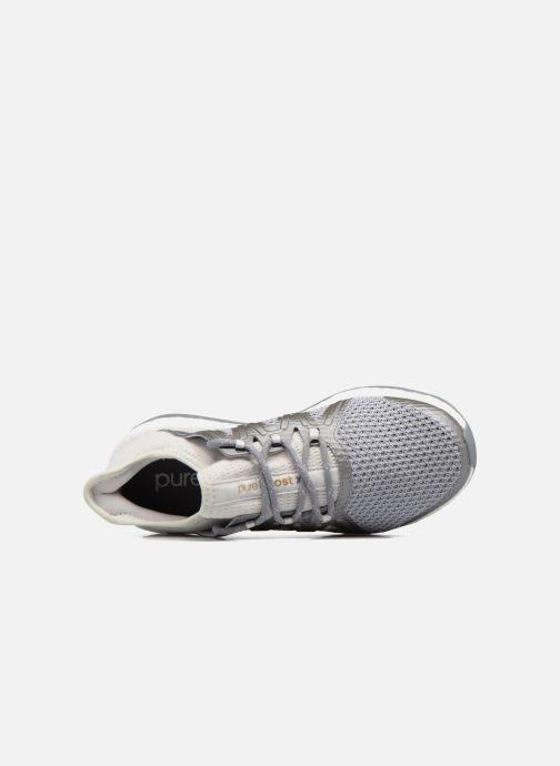 Chaussures de sport adidas performance PureBOOST Xpose Gris vue gauche