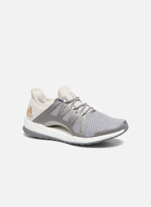 Chaussures de sport adidas performance PureBOOST Xpose Gris vue détail/paire
