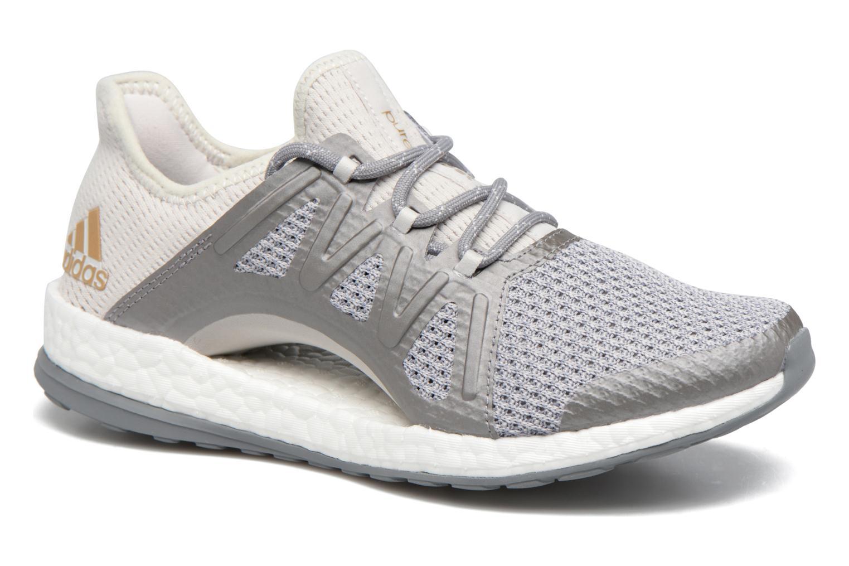 9cb65b0851 Chaussures de sport Adidas Performance PureBOOST Xpose Gris vue détail/paire