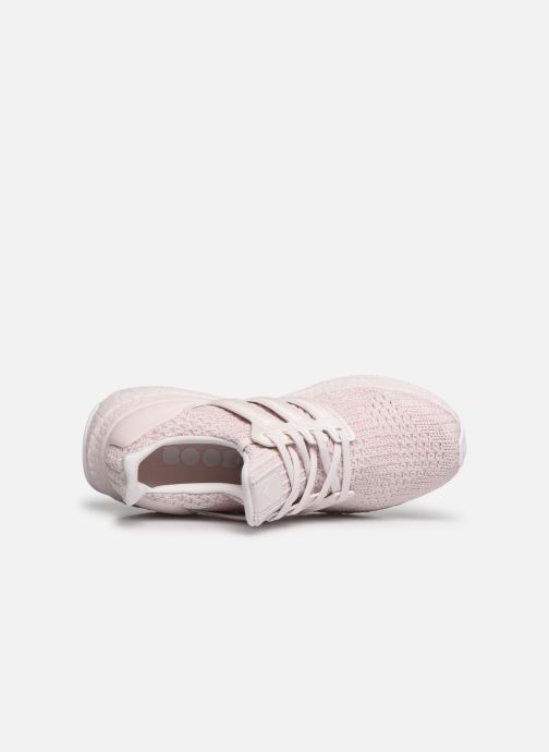Sportssko adidas performance UltraBOOST w Pink se fra venstre