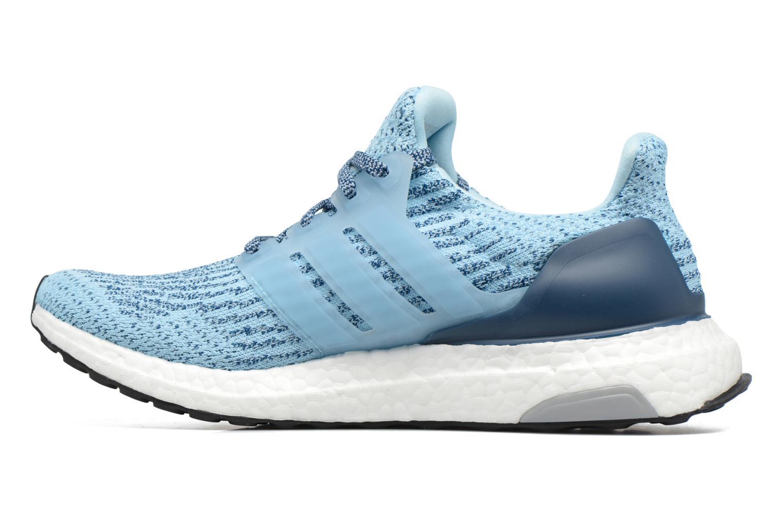 Zapatillas de deporte Adidas Performance UltraBOOST w Azul vista de frente