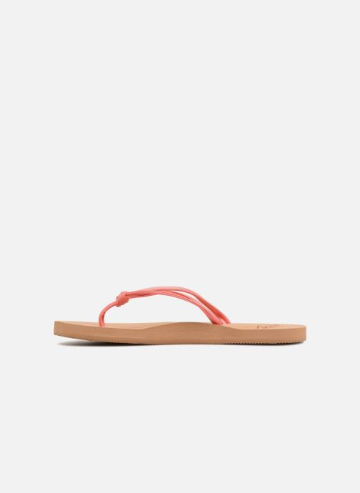 Slippers Roxy Rg Lahaina Roze voorkant