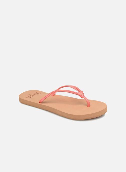 Flip flops & klipklapper Roxy Rg Lahaina Pink detaljeret billede af skoene