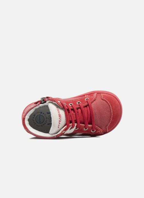 Bottines et boots Primigi Alina Rouge vue gauche