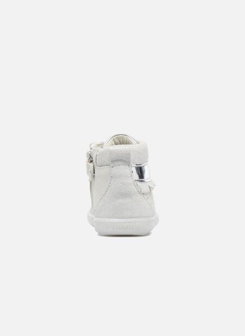 Zapatos con cordones Primigi Camelia Blanco vista lateral derecha