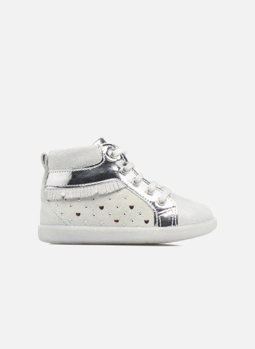 Zapatos con cordones Primigi Camelia Blanco vistra trasera