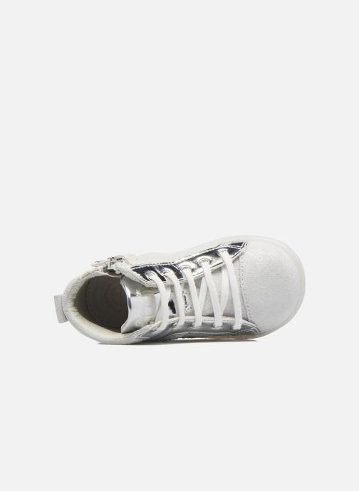 Scarpe con lacci Primigi Camelia Bianco immagine sinistra