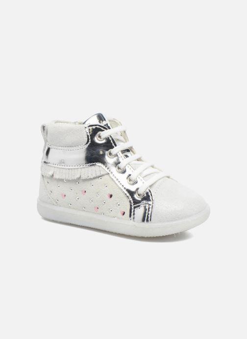 Chaussures à lacets Primigi Camelia Blanc vue détail/paire
