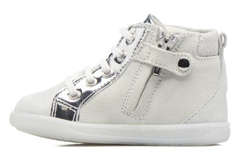 Chaussures à lacets Primigi Camelia Blanc vue face