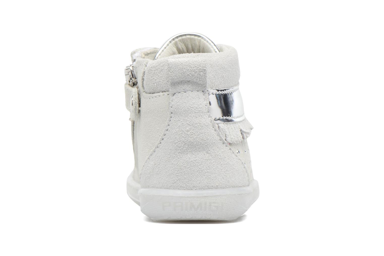 Scarpe con lacci Primigi Camelia Bianco immagine destra
