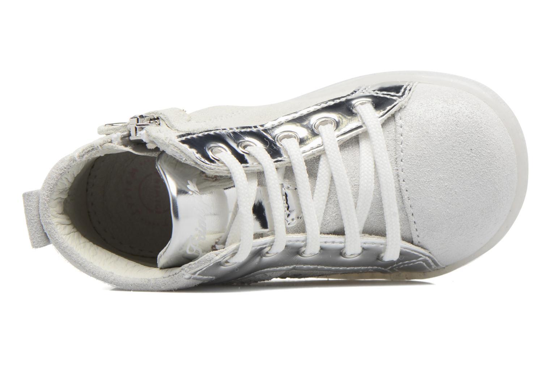 Chaussures à lacets Primigi Camelia Blanc vue gauche