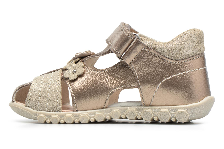 Sandali e scarpe aperte Primigi Belinda Oro e bronzo immagine frontale