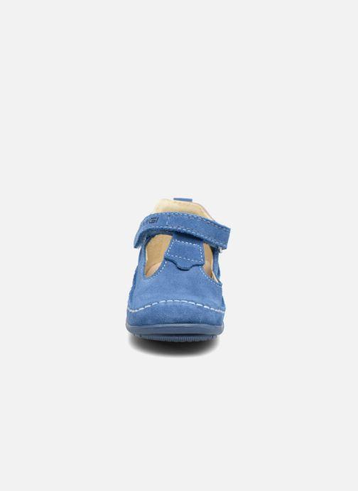 Chaussures à scratch Primigi Luca Bleu vue portées chaussures