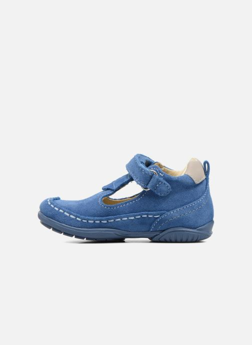 Chaussures à scratch Primigi Luca Bleu vue face