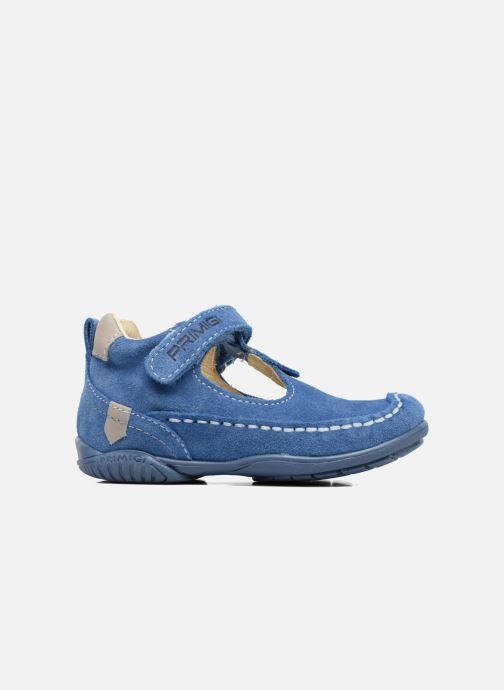 Zapatos con velcro Primigi Luca Azul vistra trasera
