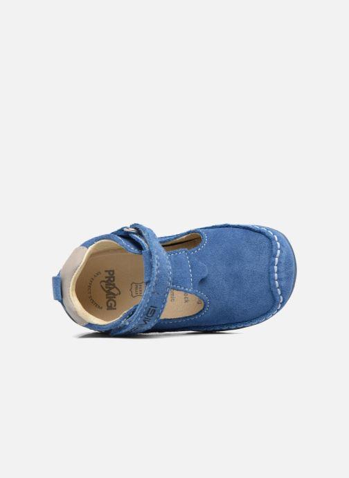 Zapatos con velcro Primigi Luca Azul vista lateral izquierda