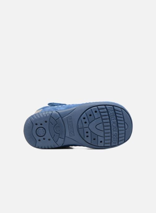 Velcro shoes Primigi Luca Blue view from above