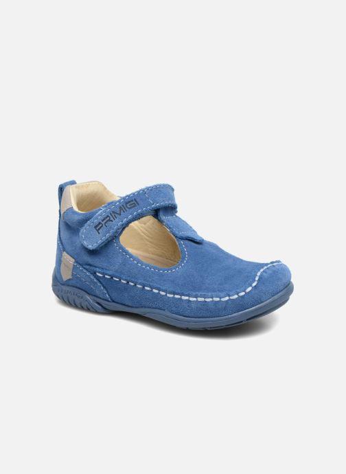 Velcro shoes Primigi Luca Blue detailed view/ Pair view