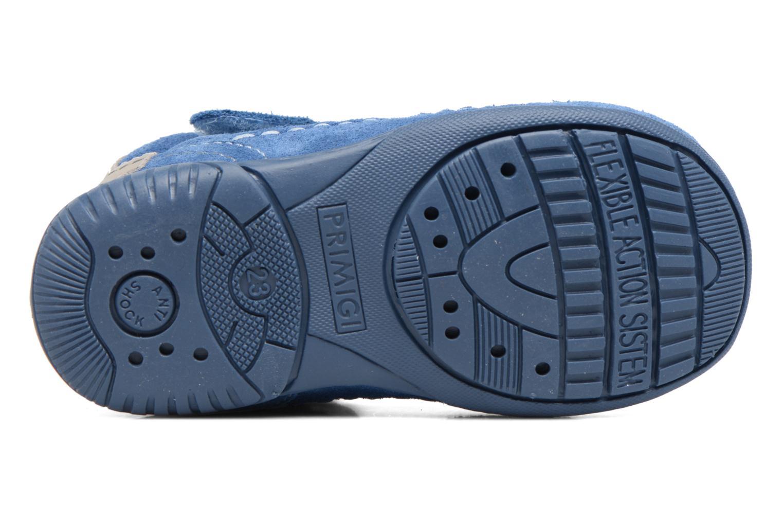 Chaussures à scratch Primigi Luca Bleu vue haut