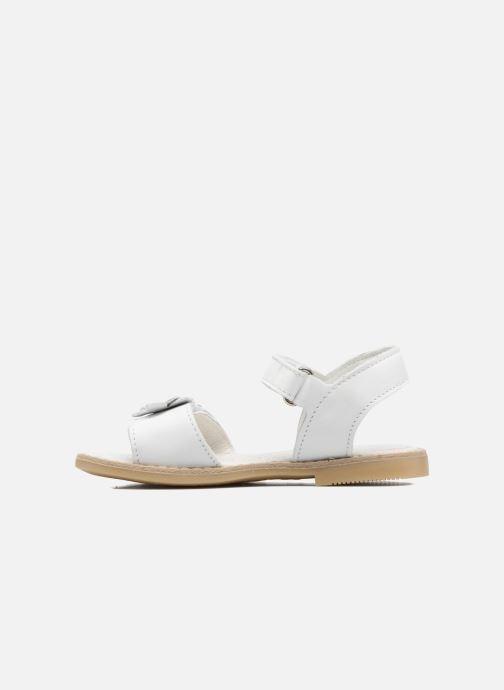 Sandals Primigi Fiorela White front view