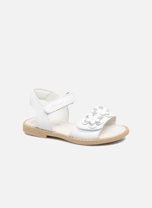 Sandals Primigi Fiorela White detailed view/ Pair view