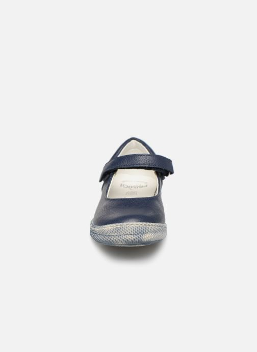 Ballerines Primigi Classica Bleu vue portées chaussures