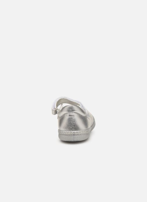 Ballet pumps Primigi Classica Silver view from the right