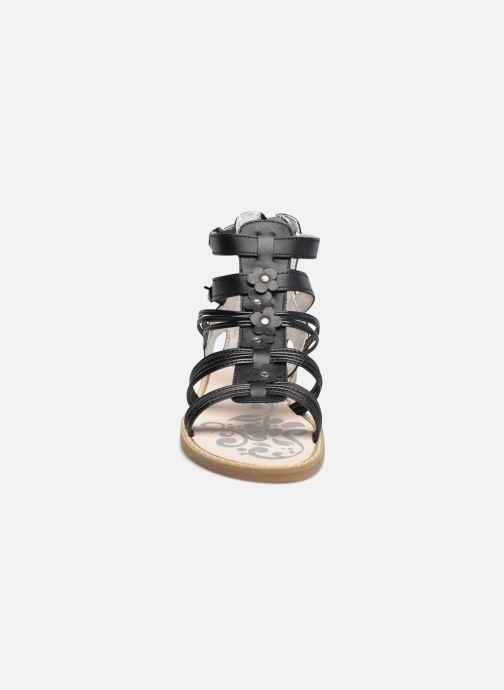 Sandales et nu-pieds Primigi Elena Noir vue portées chaussures