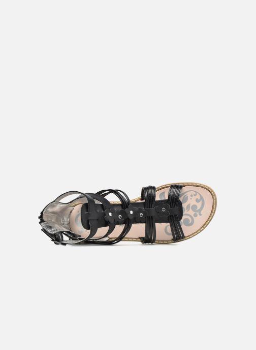 Sandales et nu-pieds Primigi Elena Noir vue gauche