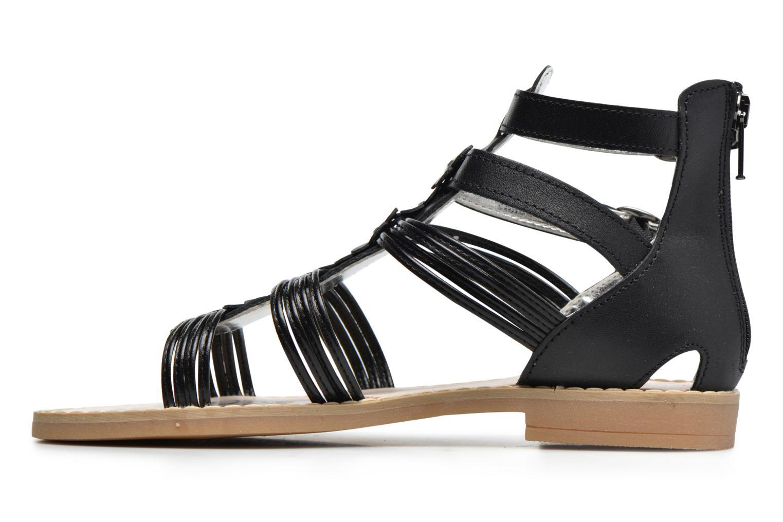 Sandali e scarpe aperte Primigi Elena Nero immagine frontale