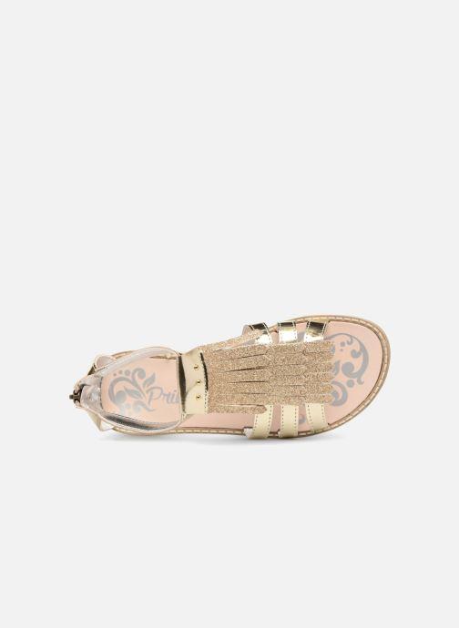 Sandales et nu-pieds Primigi Vittoria Or et bronze vue gauche