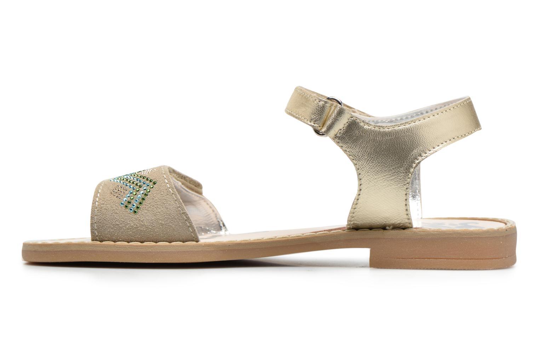 Sandali e scarpe aperte Primigi Olga Oro e bronzo immagine frontale