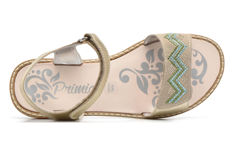 Sandali e scarpe aperte Primigi Olga Oro e bronzo immagine sinistra