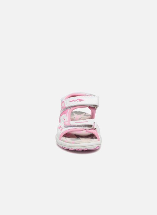 Sandales et nu-pieds Primigi Oli Rose vue portées chaussures