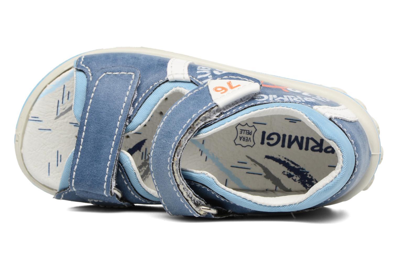 Sandales et nu-pieds Primigi Livio Bleu vue gauche