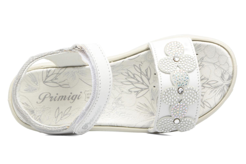 Sandali e scarpe aperte Primigi Anita Bianco immagine sinistra