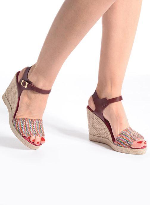 Sandalen Pare Gabia Athena mehrfarbig ansicht von unten / tasche getragen