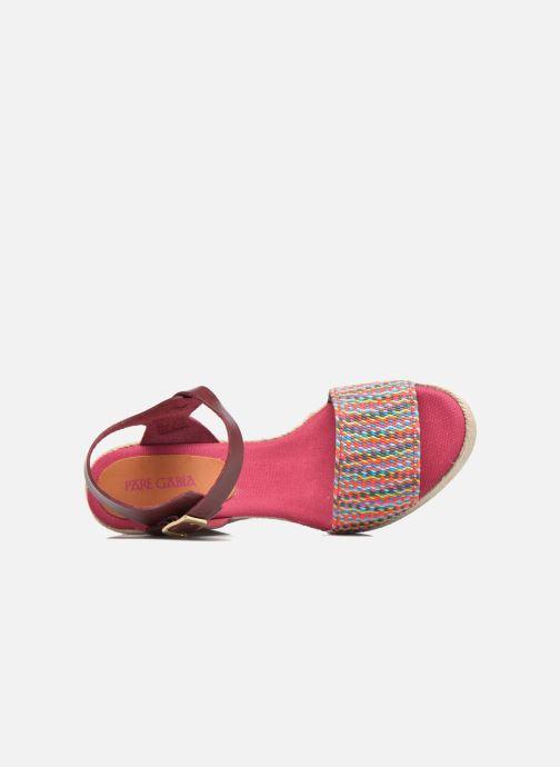Sandalen Pare Gabia Athena mehrfarbig ansicht von links
