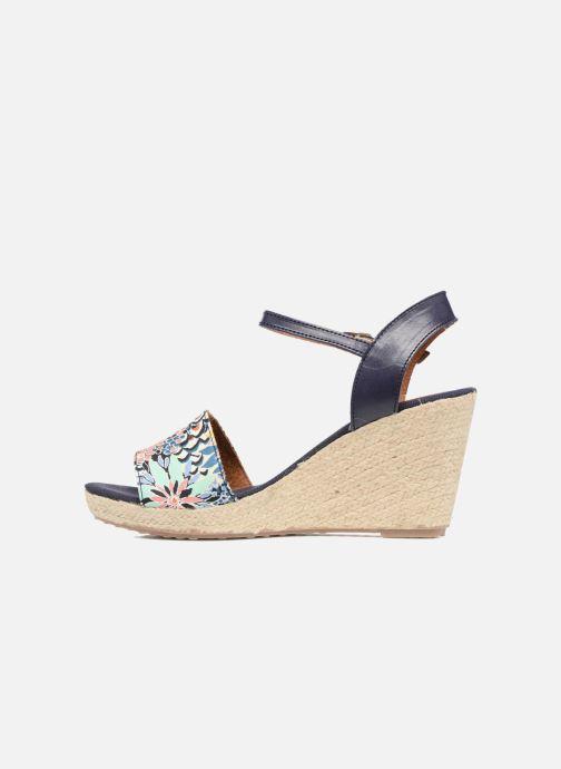 Sandales et nu-pieds Pare Gabia Marina Bleu vue face