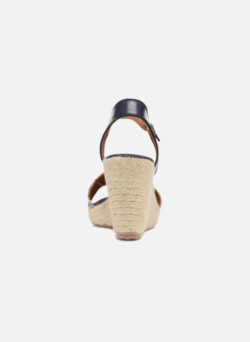 Sandales et nu-pieds Pare Gabia Marina Bleu vue droite