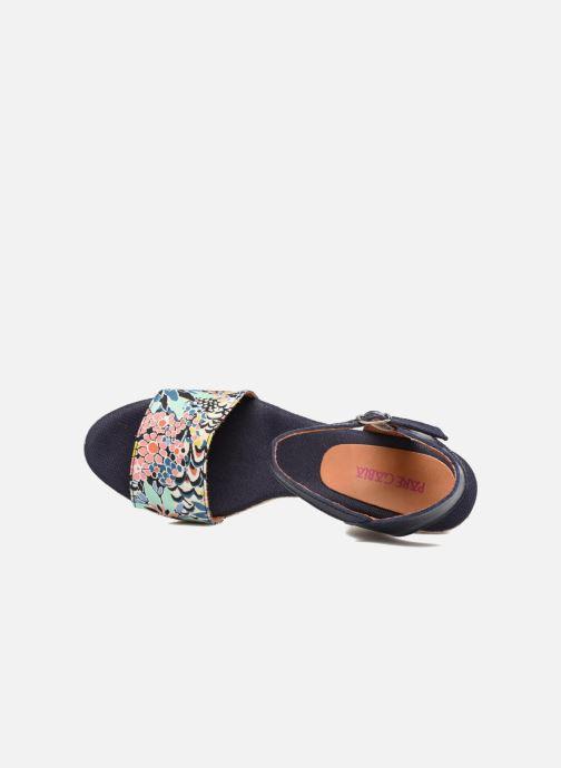 Sandales et nu-pieds Pare Gabia Marina Bleu vue gauche