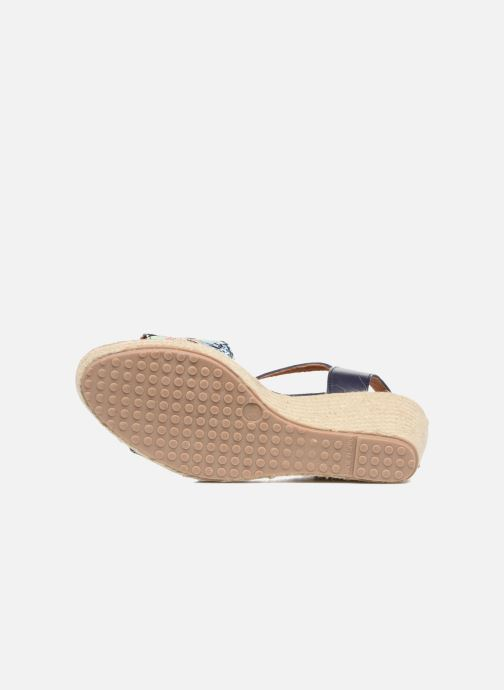 Sandales et nu-pieds Pare Gabia Marina Bleu vue haut