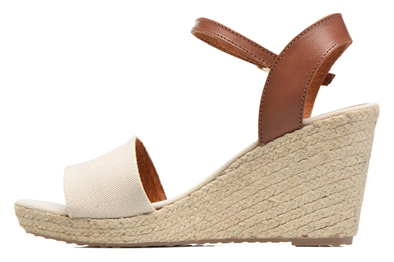 Sandalen Pare Gabia Marina Beige voorkant