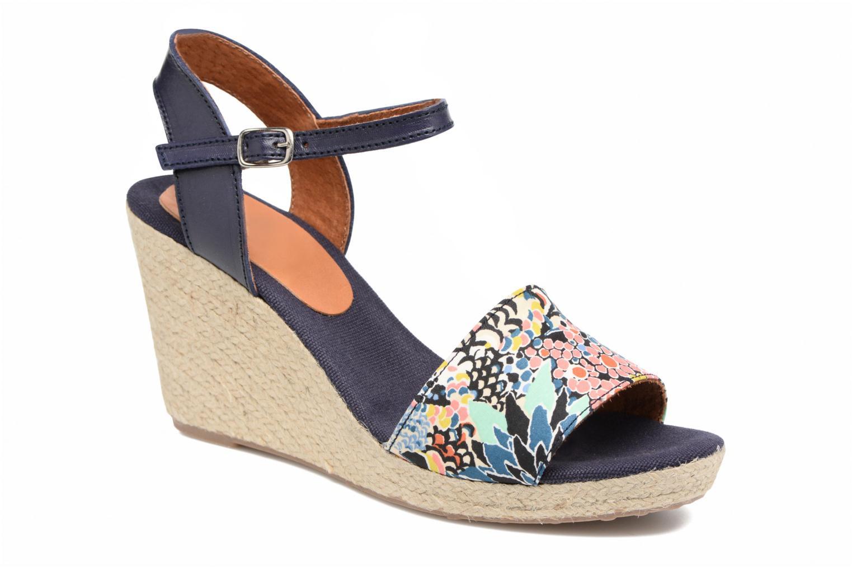 Sandalen Pare Gabia Marina Blauw detail