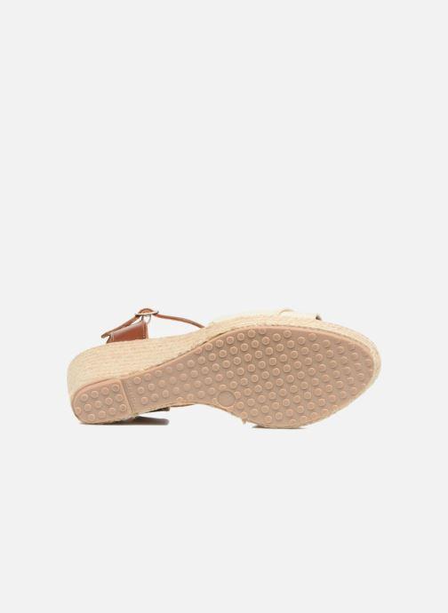 Sandales et nu-pieds Pare Gabia Mirage Beige vue haut